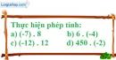 Bài 113 trang 84 SBT toán 6 tập 1