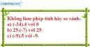 Bài 114 trang 84 SBT toán 6 tập 1