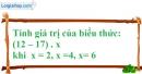 Bài 119 trang 85 SBT toán 6 tập 1
