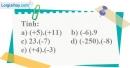Bài 120 trang 85 SBT toán 6 tập 1