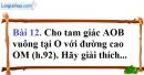 Bài 12 trang 149 Vở bài tập toán 8 tập 1