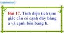 Bài 17 trang 152 Vở bài tập toán 8 tập 1