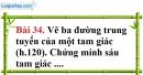 Bài 34 trang 163 Vở bài tập toán 8 tập 1