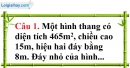 Đề kiểm tra 45 phút chương 2 phần Hình học 8 - Đề số 2