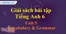 Vocabulary and Grammar - trang 33 Unit 5 SBT tiếng Anh lớp 6 mới