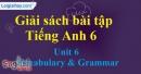 Vocabulary and Grammar - trang 40 Unit 6 Sách Bài Tập (SBT) tiếng Anh lớp 6 mới