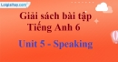 Speaking - trang 35 Unit 5 SBT tiếng Anh lớp 6 mới