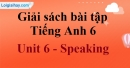 Speaking - trang 42 Unit 6 SBT tiếng Anh lớp 6 mới