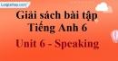 Speaking - trang 42 Unit 6 Sách Bài Tập (SBT) tiếng Anh lớp 6 mới