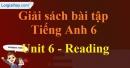 Reading - trang 44 Unit 6 Sách Bài Tập (SBT) tiếng Anh lớp 6 mới
