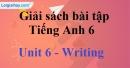 Writing - trang 46 Unit 6 Sách Bài Tập (SBT) tiếng Anh lớp 6 mới