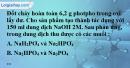 Bài 10.3, 10.4 trang 17 SBT hóa học 11