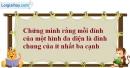 Bài 1.29 trang 20 SBT hình học 12