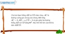 Bài 1.32 trang 20 SBT hình học 12