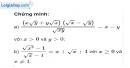 Bài 63 trang 15 SBT toán 9 tập 1