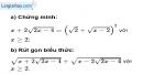 Bài 64 trang 15 SBT toán 9 tập 1