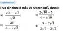 Bài 69 trang 16 SBT toán 9 tập 1