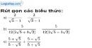 Bài 70 trang 16 SBT toán 9 tập 1