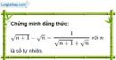Bài 71 trang 16 SBT toán 9 tập 1
