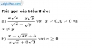 Bài 75 trang 17 SBT toán 9 tập 1