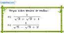 Bài 76 trang 17 SBT toán 9 tập 1