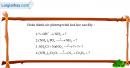 Bài 8.10 trang 13 SBT hóa học 11