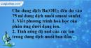 Bài 8.12 trang 13 SBT hóa học 11