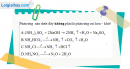 Bài 8.8, 8.9 trang 12 SBT hóa học 11