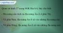 Câu 1 trang 37 SBT địa 6