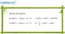 Bài 1.26 trang 37 SBT đại số và giải tích 11