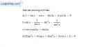 Bài 1.30 trang 38 SBT đại số và giải tích 11