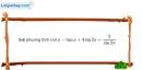 Bài 1.31 trang 38 SBT đại số và giải tích 11