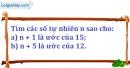 Bài 13.2 phần bài tập bổ sung trang 24 SBT toán 6 tập 1