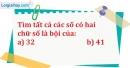 Bài 144 trang 24 SBT toán 6 tập 1