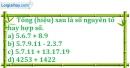 Bài 149 trang 24 SBT toán 6 tập 1