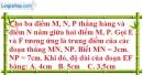 Bài I.6, I.7, I.8, I.9, I.10 phần bài tập bổ sung trang 139 SBT toán 6 tập 1