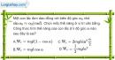 Bài 3.7, 3.8 trang 10 SBT Vật Lí 12