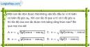 Bài 3.9, 3.10 trang 10 SBT Vật Lí 12