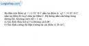 Bài 3.7 trang 8 SBT Vật Lí 11