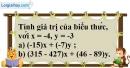 Bài 11.1 phần bài tập bổ sung trang 87 SBT toán 6 tập 1