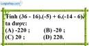 Bài 11.4 phần bài tập bổ sung trang 88 SBT toán 6 tập 1