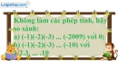 Bài 12.3 phần bài tập bổ sung trang 89 SBT toán 6 tập 1