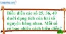 Bài 132 trang 87 SBT toán 6 tập 1