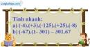 Bài 137 trang 89 SBT toán 6 tập 1