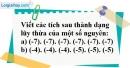 Bài 138 trang 89 SBT toán 6 tập 1