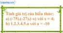 Bài 144 trang 90 SBT toán 6 tập 1