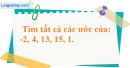 Bài 151 trang 91 SBT toán 6 tập 1