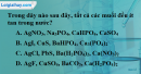 Bài 11.3, 11.4 trang 18 SBT hóa học 11
