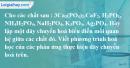 Bài 13.8  trang 21 SBT hóa học 11