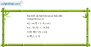 Bài 1.45 trang 19 SBT đại số 10